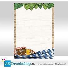 Motivpapier Briefpapier Bayern Raute Edelweiß Oktoberfest bayrisch 100 Blatt A5