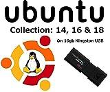 Linux Ubuntu 16.04.01 Nouvelle Dernière Version sur Clé USB 8 Go: 32bit et 64 Bit...