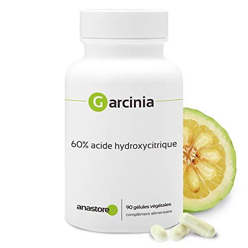GARCINIA * 400 mg / 90 capsule * Per controllare il peso * 100% soddisfatti o rimborsati * Fabbricato in Francia