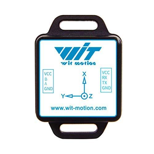 WT901C485 alta precisione 9 asse multiplo collegato filtro di Kalman 200HZ uscita sensore 3 asse giroscopio accelerometro Tilt angolo bussola MPU9250 inclinometro supporto PC/Arduino nell'industria