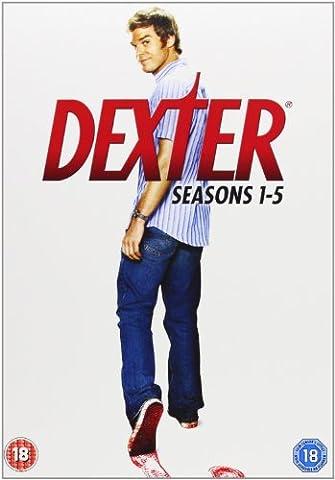 [UK-Import]Dexter Seasons 1-5 Complete DVD Box Set
