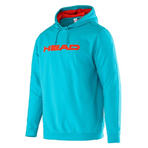 Head Transition Byron - Felpa con cappuccio, da uomo, Uomo, Transition Byron, Aqua/Flame, M