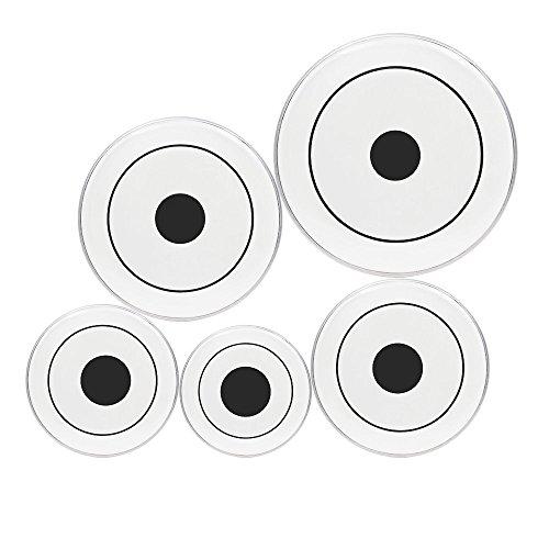 ammoon-5pcs-trasparenti-pelli-rivestito-con-black-dot-12-13-14-16-22-per-drum-set