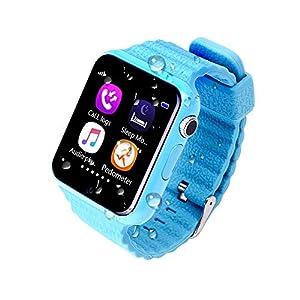 JSGJSH 2018 Intelligentes Armband Kinder Smart Watch V7K Sicherheit Anti-verlorene GPS Tracker Wasserdicht Smartwatch SIM Karte Kamera Kind SOS Notfall Für iOS