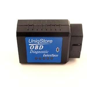 UniqStore® OBD2 OBDII V1.4 Auto Diagnostic de voiture Bluetooth CAN-BUS outil d'analyse