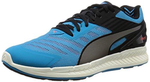 Puma Ignite v2 - Zapatillas de Running para Hombre, Color Azul (Atomic Blue/Aged Silver/Red Blast), Talla 46