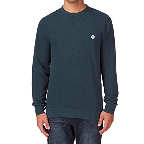Element Cornell CR Crew Neck (charcoal heather) petrol