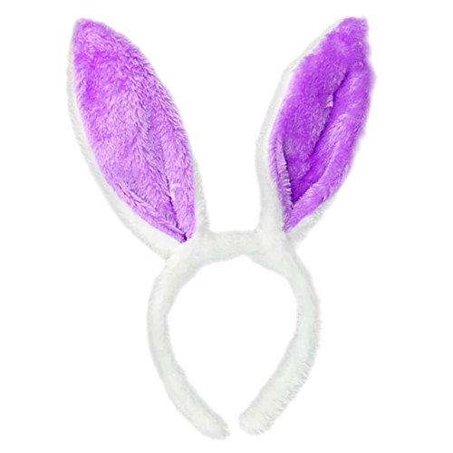 VJGOAL Erwachsener Stirnband, Ostern Spielen Kaninchen Form Kopfbedeckung Karneval Verkleiden Sich Stirnband Haarspange ()