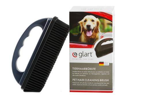 Glart 45THB Premium Hundebürste Tierhaarbürste, entfernt Tierhaare und Schmutz von allen Auto Sitzen, Polstern, Teppichen