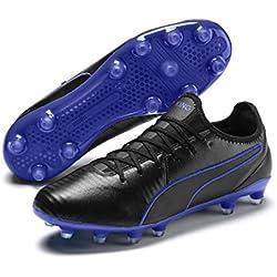 Puma King PRO Fg, Scarpe da Calcio Unisex-Adulto, Nero Black-Royal Blue 02, 39 EU