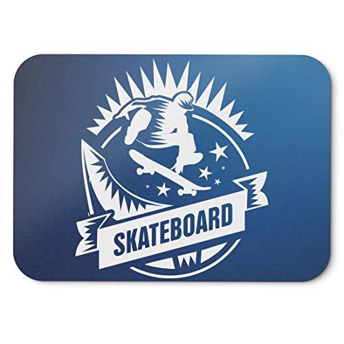 BLAK TEE Skateboarding Sport Mouse Pad 18 x 22 cm in 3 Colours Blue