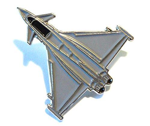 Eurofighter Typhoon Multirole RAF Fighter Jet Military Metal Aircraft Badge