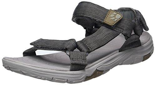 Jack Wolfskin Damen Seven Seas 2 Sandal W Sport, Grau (Tarmac Grey), 38 EU