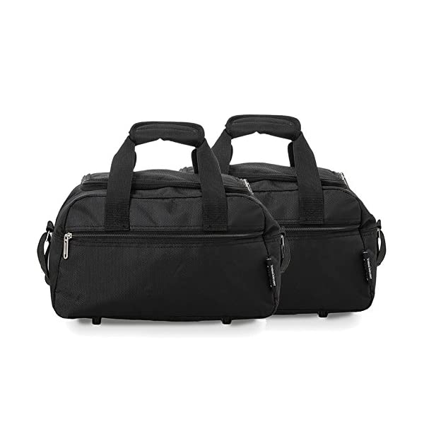 415to1WNsWL. SS600  - Aerolite Holdall Maximum Ryanair Hand Luggage Cabin Sized Flight Shoulder Bag Equipaje de Mano, 35 cm, 14 Liters, Negro…