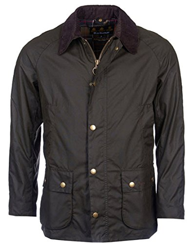 Barbour Ashby Contemporary Wax Jacket OLIVE XL