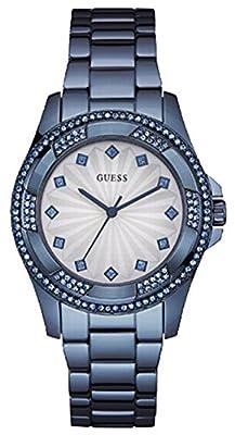Guess W0702L1 - Reloj de pulsera Mujer, Acero inoxidable, color Azul de Guess