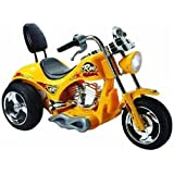 Powered Ride On - Chopper Trike (Yellow) - 6 Volt