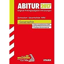 Abiturprüfung Nordrhein-Westfalen - Geographie GK/LK