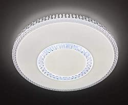 Verstellbare Deckenleuchte LED 72W C915 Mit Einstellbarer Temperaturänderung und Farbe Mit Fernbedienung Beleuchtung Für Zuhause, Wohnzimmer, Esszimmer, Büro.Φ490mm ONSSI LED