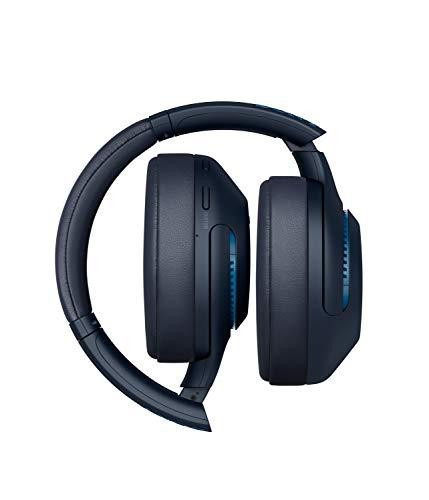 Sony WH-XB900N Bluetooth Noise Cancelling Kopfhörer (Extra Bass,30h Akku, Amazon Alexa & Google Assistant, Gestensteuerung) Blau - 4