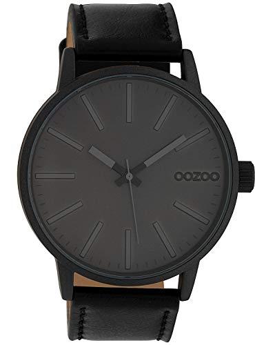 Oozoo Armbanduhr Grau/Schwarz 45 mm C10014
