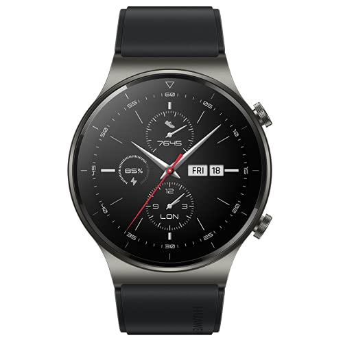 """Oferta de HUAWEI Watch GT 2 Pro - Smartwatch con Pantalla AMOLED de 1.39"""", hasta Dos semanas de batería, Negro, 46 mm"""