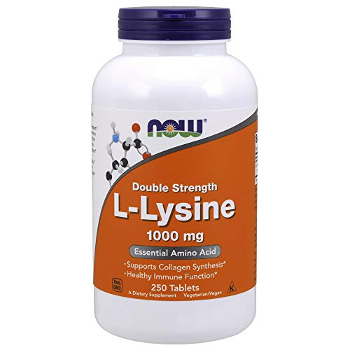 1000mg Double Strength L-Lysine 250 Tablets