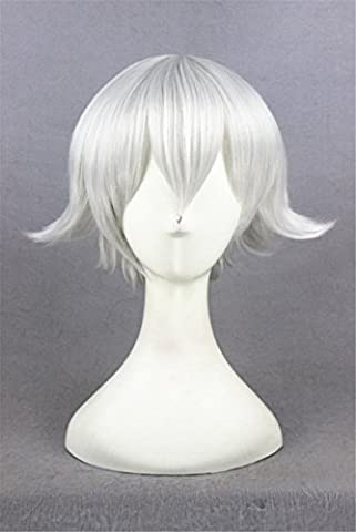 Frankie Stein Perruque - Photo Pal 30cm Cosplay Perruque Longue Blanche