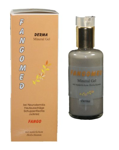 Fangopackung - Derma - Mineral-Gel - 100ml - Heilschlamm-Packung bei Hautbeschwerden