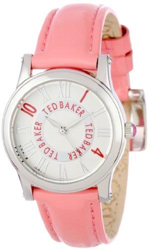 Ted Baker TE2070 - Reloj analógico de cuarzo para mujer con correa de piel, color rosa
