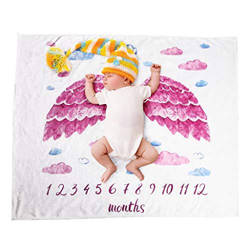 Baby Kostüm Sonnenschein - Kinderteppich Baby Kinder Teppich Serria® Neugeborene Mädchen Meilenstein Decke Kostüm Foto Fotografie Prop Outfits für Schlafzimmer, Wohnzimmer, Kinderzimmer, Dekor