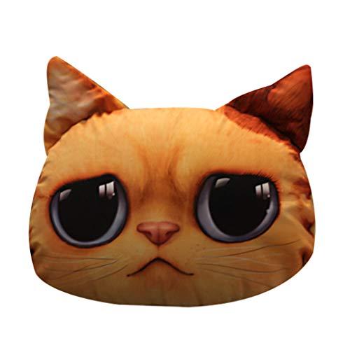 Plüschtier Super Nette weiche Spaß 33 * 38cm Plüsch Katze Tier Stofftier Puppe Geschenk für Kinder By Vovotrade -