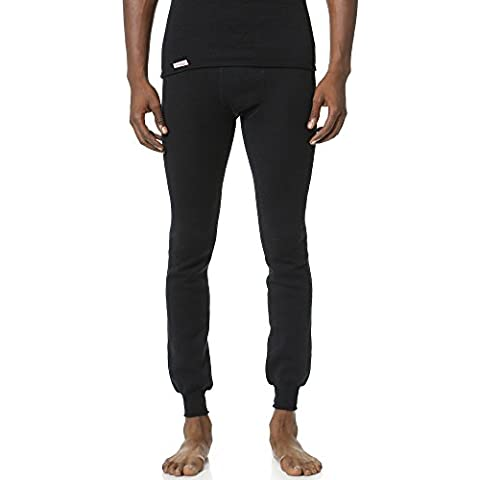 Woolpower 200long Johns Pant Men–Underpants sin intervenciÓn, NOS, hombre unisex mujer, color negro, tamaño M