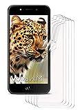 moex 5X Wiko Wim LITE | Schutzfolie Klar Bildschirm Schutz [Crystal-Clear] Screen Protector Display Handy-Folie Dünn Bildschirmschutz-Folie für Wiko Wim LITE Bildschirmfolie