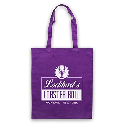 Inspiriert durch The Affair Lockhart's Lobster Roll Restaurant Inoffiziell Umhangetaschen Violett