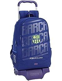FCB FC Barcelona 611826313 2018 Mochila Escolar 44 cm, Azul