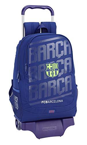 FC Barcelona Mochila Grande Ruedas