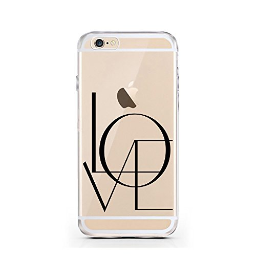 iPhone 6S Hülle von licaso® für das Apple iPhone 6 & 6S aus TPU Silikon Super Hero is my middle Name Super-Held Muster ultra-dünn schützt Dein iPhone & ist stylisch Schutzhülle Bumper Geschenk (iPhone L O V E