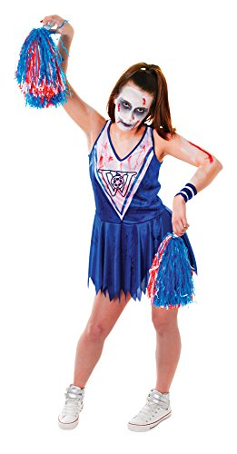 1Zombie Cheerleader Kleid (Plus Schneewittchen Kostüme)