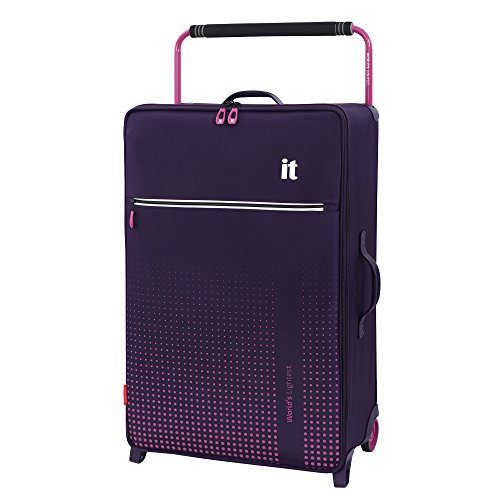 it luggage World's Lightest Vitalize 2 Wheel Super Lightweight Suitcase Large Koffer, 80 cm, 87 liters, Violett (Purple)