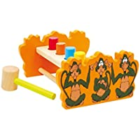 Legler Reversable Hammer Bench Preschool Learning Toy
