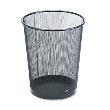 rolodex-mesh-round-wastebasket-11-1-2-diameter-x-14-1-4-h-black-22351-2-pack-by-rolodex