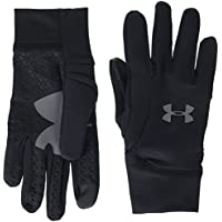 Under Armour, Youth Armour Liner 2.0, Guanto, Uomo, Nero (Nero/Nero/Graphite), M