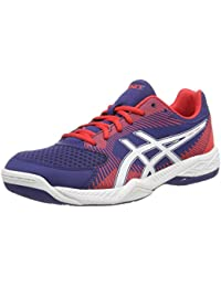 42.5 Footwear ASICS Mens Gel Flare 4 Volleyball Shoes White