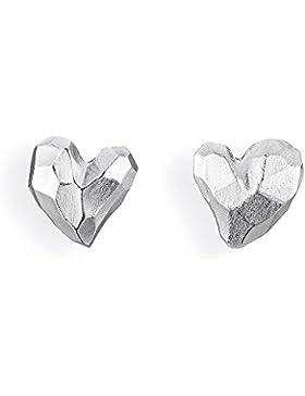 Drachenfels Damen-Ohrstecker Heartbreaker Silber - D HE 26/AG