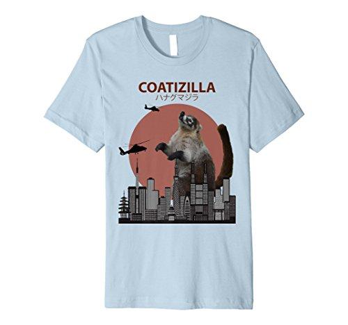 coatizilla Funny Nasenbär T-Shirt | Cooles Nasenbär Liebhaber Geschenk (Stolz Funny T-shirt Tee)