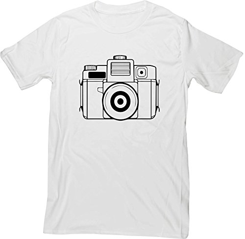 Hippowarehouse Illustrated Camera Unisex Short Sleeve t-Shirt (Specific Size Guide in Description)