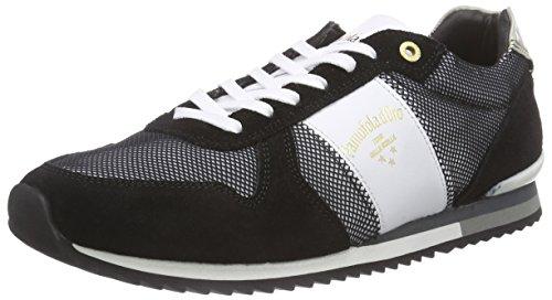 Pantofola dOro Teramo Funky, Scarpe da Ginnastica Uomo Nero (Nero (nero))