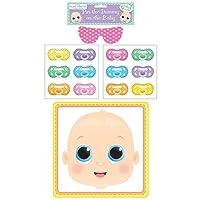 Spiel-fr-Babyparty-Steck-dem-Baby-den-Schnuller-an Baby Taufparty Spiel Pin The Dummy Schnuller Auf Das Baby - Start -