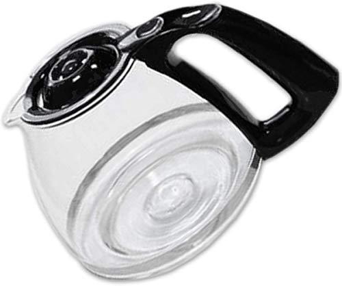 Moulinex FH900401 Jarra de 15 tazas, De cristal, 200 x 200 x 160 mm,  Transparente/negro
